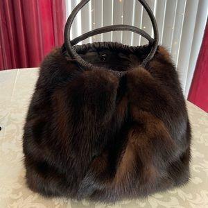 Handbags - Mink Hobo Bag